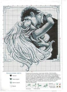 szeretni ... (szerelmes párok) / hímzések / keresztszemes rendszerek