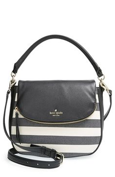 5f0b0118e9 kate spade new york  cobble hill - small devin  stripe satchel available at