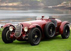 1936 Alfa Romeo 8C 2900A Botticella Spider of the Scuderia Ferrari.