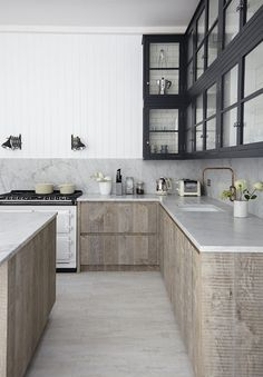 Use wood in unexpected place, as long as you keep the natural colour and form of the wood.