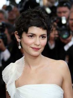 audrey's curly pixie cut - I don't have the texture for this exact look but I still like