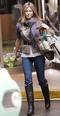 Jennifer Aniston in a very well put together outfit