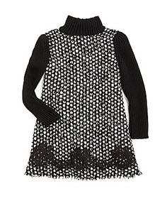 Dolce & Gabbana Toddler's & Little Girl's Turtleneck Dress