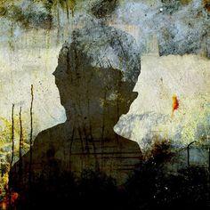 ":Eva Christin Laszka; Paper, 2010, Mixed Media ""Silouette2"""