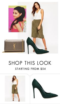 """""""Untitled #2102"""" by outfitstowear ❤ liked on Polyvore featuring ASOS, Casadei and Yves Saint Laurent"""