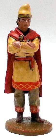 """Soldato pisidico (dell'Anatolia), 530 d.C., numero 96 della collezione """"Roma e i suoi nemici"""" (2011 Vadis) #Miniatures #Figures #AncientRome #OspreyPublishing"""