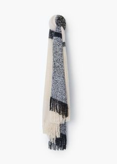 Écharpe texturée | MANGO