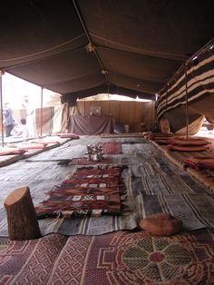 Bedouin tent at Wadi Rum