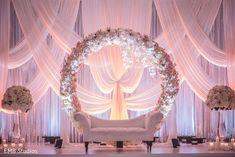 Delightful Indian wedding mandap setup. by @houseofdipali
