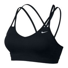 Women's Nike Pro Indy Strappy Bra If you love low-impact, high-energy training, the Women's Nike® Pro Indy Strappy Bra just might be your perfect fit! You'll feel great in this lightweight support bra