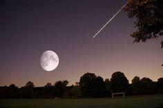 The Night Sky - Beautiful Moon