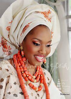Nigerian Bride - she is so beautiful