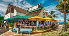 Aruba Beach Cafe one of our favorite places to eat❤️