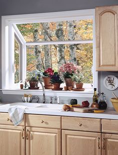 many people make a modern kitchen garden window at their home. Besides, the window is a vital need to have a good circulation of air at home Kitchen Garden Window, Garden Windows, Window Ideas, Luxury, Cincinnati, Magnolia, Modern, Queen, City