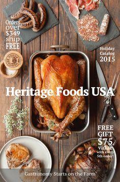 2015 Catalog Release www.heritagefoodsusa.com