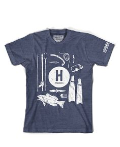 """Spearfishing Shirt """"Tools of the Trade"""" 