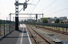 station Utrecht Lunetten Utrecht, Railroad Tracks
