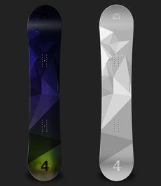 FORSNOWBOARDING Board Design - Lionart