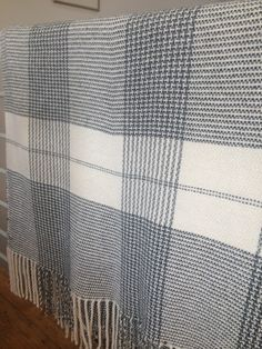comfort blanket! handwoven. mono-chrome texture: Josephine Andrews awovenfabric@gmail.com