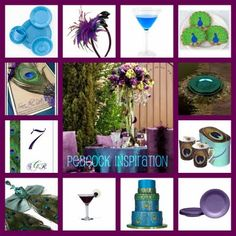 Peacock Themed Party |Peacock Wedding Ideas | Peacock decorating Ideas