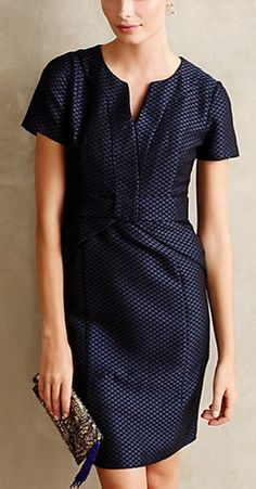 Diamond dot pencil dress #anthrofave http://rstyle.me/n/sa5fhnyg6