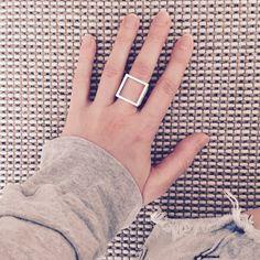 Form E6S Ring by Phoebe Joel   http://adornmilk.com