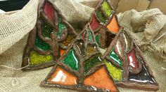 Podzimní strom /keramika v MŠ