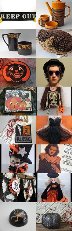 almost Halloween! by Debra L. Boudreau on Etsy--Pinned with TreasuryPin.com