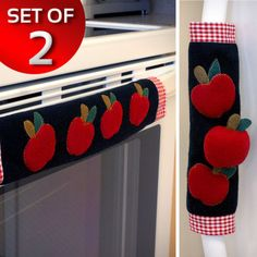 Kitchen-Handle-Door-Cover-Sleeve-Appliance-Accessories-Apple-Fridge-2-Home-New