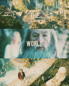 ...the world ahead. #thehobbit #lotr