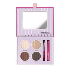 Janay Brazier: Makeup Monday: My Five Favourite Eyebrow Products - Tanya Burr Cosmetics Eyebrow Makeup, Beauty Makeup, Hair Beauty, Beauty 101, Beauty Hacks, Tanya Burr Makeup, Youtuber Merch, Brow Palette, Best Makeup Products