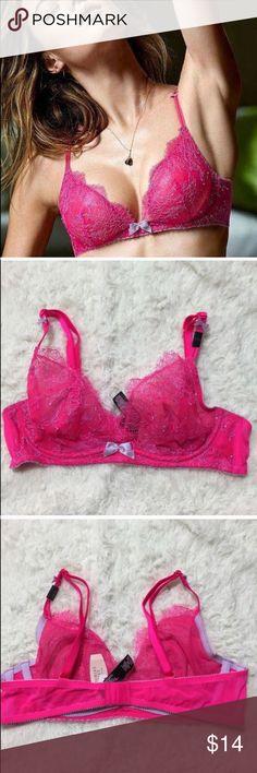 70% off VS 34B Unlined Demi Bra, Unlined Victoria's Secret Intimates & Sleepwear Bras