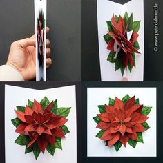 Learn to make Pop Up Cards from paper