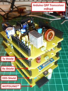 m0xpd's 'Shack Nasties': Arduino QRP Transceiver