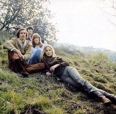 Another iconic Harry Diltz photo. The Mammas and the Papas in their heyday, and that sunlight, and mist... it just oozes winter in the coastal hills of Southern California