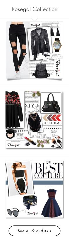 """""""Rosegal Collection"""" by omerovic-sumea ❤ liked on Polyvore featuring Chanel, LSA International, Christian Dior, Yves Saint Laurent, H&M, Avon, Wall Pops!, Fountain and Bobbi Brown Cosmetics"""