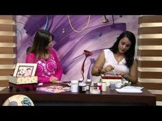Mulher.com 14/01/2015 Caixa de joaninha por Livia Fiorelli Parte 2 - YouTube