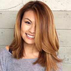 Gorgeous Long Bob Hairstyles for Round Face