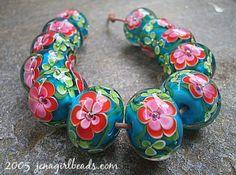 Jenagirlbeads #lampwork #beads