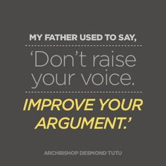 """My father used to say..."" - Desmond Tutu - Imgur"