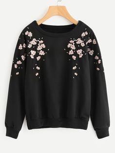 Imágenes Sweater Sweatshirts Clothes Mejores 51 Y Embroidered De UqOw65t1