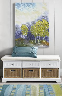 Ensure all those wayward must-haves in mudrooms and entryways have a beautiful place to call home with our space-maximizing Chelsea Storage Bench.