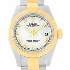 Women's Certified Pre-Owned Watches - Rolex Datejust automaticselfwind womens Watch 179163 Certified Preowned -- Be sure to check out this awesome product.