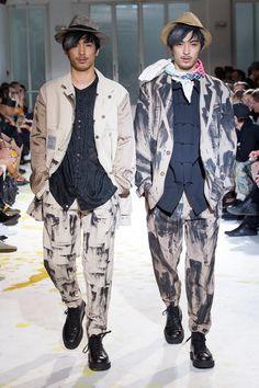 Yohji Yamamoto | Spring 2015 Menswear Collection | Style.com