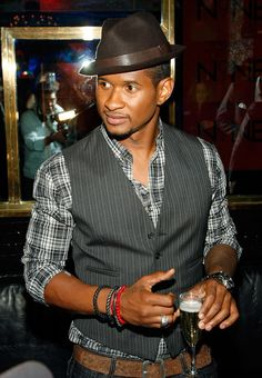 Usher - love his style!