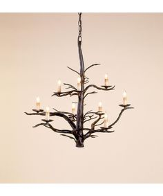 Currey and Company 9327 Treetop 26 Inch Chandelier | Capitol Lighting 1-800lighting.com
