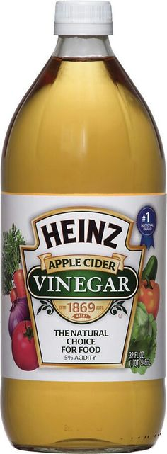 Heinz Apple Cider Vinegar, Heinz Vinegar, Water Bottle, Food, Meals, Yemek, Eten