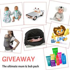 Have you entered the fabulous GIVEAWAY we are doing with COZIGO and 6 other brands? There is over $800 worth of prizes to be won!   Find the original image and enter....it wont take long and you've got to be in it to win it!