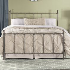You'll love the Molly Panel Bed at Wayfair - Great Deals on all Furniture  products with Free Shipping on most stuff, even the big stuff.