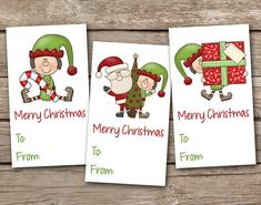 PRODUCT INFO: Printable gift tags, 3.5 x 2.  You will receive a PDF of the design shown, containing (12) gift tags on a sheet (four of each design). Print from the file as many times as you wish at home or professionally.  ORDERING INFO: This is an INSTANT DOWNLOAD ITEM. Once your payment is confirmed, you will receive an e-mail with your download link. This normally takes about 5 minutes. You may also download the link directly from Etsy. Info for doing this…